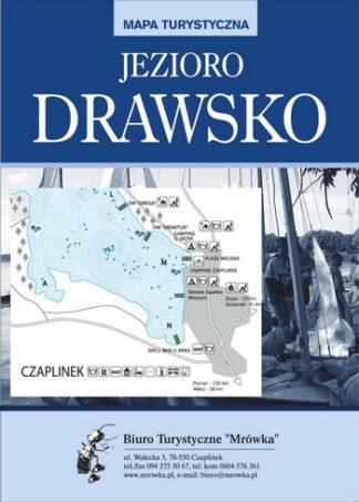 Mapa jeziora Drawsko