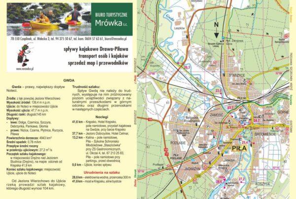 Piława Mapa